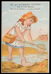 Sample card for summer series No. 40, location unknown, undated