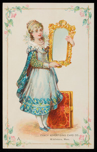 Trade card for the Fancy Advertising Card Co., Middleboro, Mass., undated