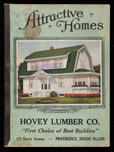 Attractive homes, Hovey Lumber Co., Providence, Rhode Island