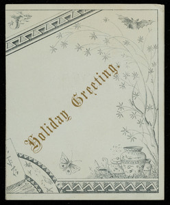 Trade card for Chas. Bartlett, stationery, location unknown, 1881