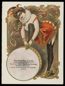 Sample card for No. 2546, B. & K., location unknown, undated