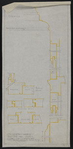 Full Size Details of Wardrobe in Third Story Hall, House of J.S. Ames Esq. at 3 Com'w'lth Ave., Jan. 10, 1917