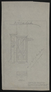 Locker in Coat Closet, First Floor, House of J.S. Ames, Esq., 3 Comwlth Ave., undated