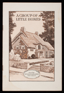 Group of little homes, McCall's magazine, New York, New York