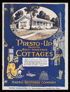 Presto-Up Cottages, Harris Brothers Company, Chicago, Illinois