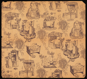 Wrapping paper for the Pepperell Manufacturing Co., Biddeford, Maine, 1925