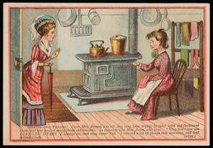 Trade card for Diamond Dyes, Wells, Richardson & Co., Burlington, Vermont, undated