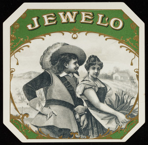 Label for Jewelo, cigars, location unknown, undated
