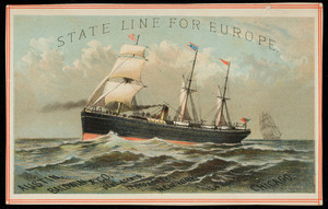 Trade card for the Austin, Baldwin & Co., general agents, 72 Broadway, New York, New York and Chicago, Illinois, undated