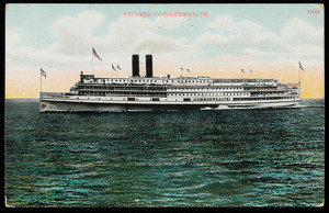 Steamer Commonwealth, A.C. Bosselman & Co., New York, dated September 13, 1908