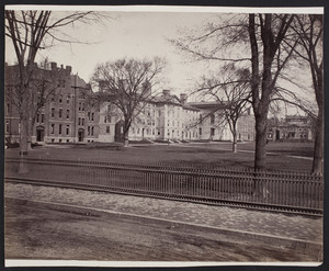 Brown University Campus Front Green, Providence, R.I., 1881