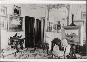 Taft House, 79 Waterman St., Providence, R.I., Parlor, undated