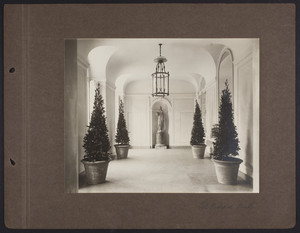 La Leopolda, entrance hall, 1939
