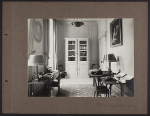 La Leopolda, 1st floor writing room, 1939