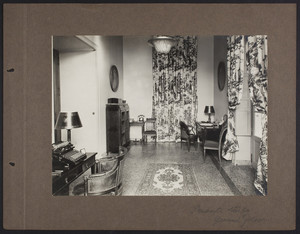 La Leopolda, private study, ground floor, 1939