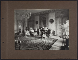 La Leopolda, grand salon, 1939