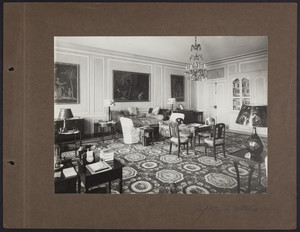 La Leopolda, upstairs sitting room, 1939