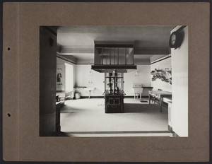 La Leopolda, kitchen, 1939