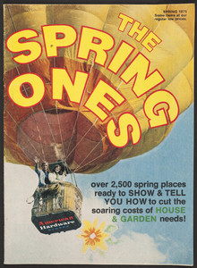 Spring ones, American Hardware Stores, American Hardware Supply Company, Butler, Pennsylvania