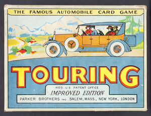 Touring, the Famous Automobile Card Game by Parker Bros.
