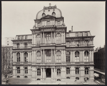 Exterior view of Old City Hall, School Street, Boston, Mass., undated