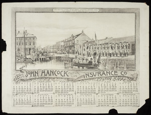 Calendar for John Hancock Mutual Life Insurance Company, Boston, Mass., 1892