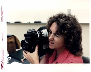 Christa Practices with the Arriflex Motion Picture Camera