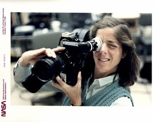 Barbara Practices with the Arriflex Motion Picture Camera