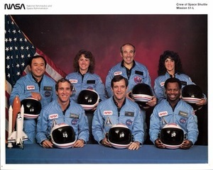 Challenger Crew Group Photo