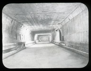 #21 - Finished tunnel - before tile