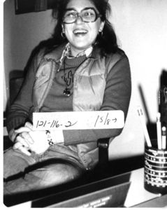 Lacica Safavi of Suffolk University's International Studies Association, 1978