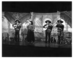 A Boston Flamenco Ballet performance sponsored by Suffolk University's Modern Language Club, 1977