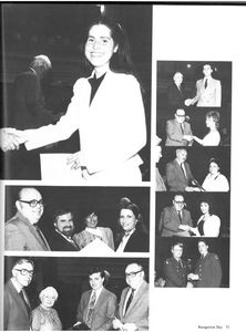 Recognition Day, from the 1984 Suffolk University Beacon yearbook