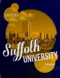 Suffolk University Beacon yearbook, 2013