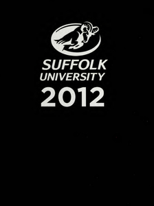 Suffolk University Beacon yearbook, 2012