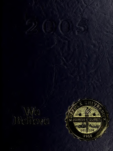 Suffolk University Beacon yearbook, 2005