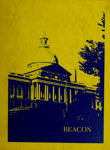 Suffolk University Beacon yearbook, 1973