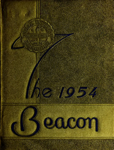 Suffolk University Beacon yearbook, 1954
