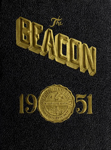 Suffolk University Beacon yearbook, 1951