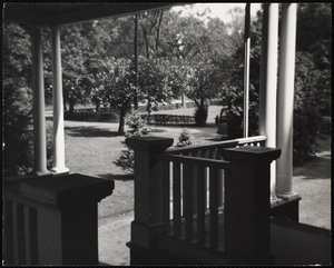 Howard Seminary for Women - Drury Hall porch