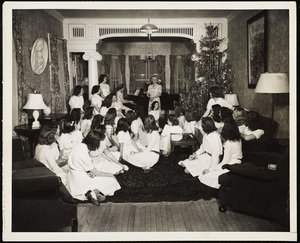 Howard Seminary for Women - Christmas party concert Drury Hall