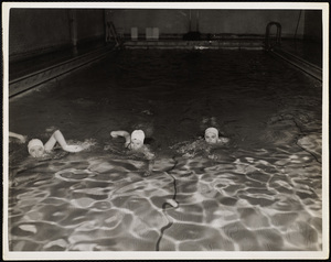 Howard Seminary for Women - Students swimming at YMCA Brockton