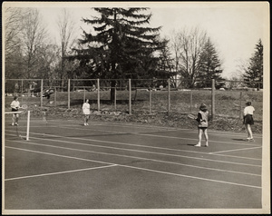 Howard Seminary for Women - Tennis game