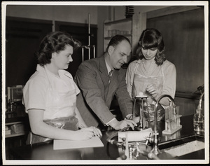 Howard Seminary for Women - Jack Eldridge teaching Chemistry