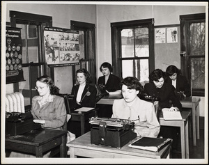 Howard Seminary for Women Typing class
