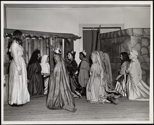 Howard Seminary for Women - Students staging Christmas Nativity story