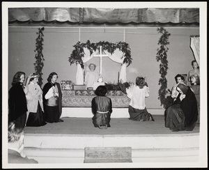 Howard Seminary for Women - Christmas Nativity pageant