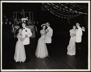 Howard Seminary for Women - Prom Queen dancing with escorts