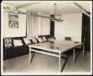 Howard Seminary for Women - Ping Pong table Drury Hall