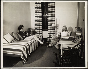 Howard Seminary for Women - Drury Hall dorm room